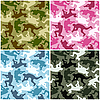Camouflage set | Stock Vector Graphics