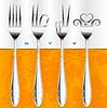 Vector clipart: fork gestures