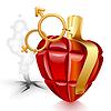 Граната в форме сердца | Векторный клипарт