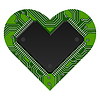 Vector clipart: heart hardware