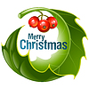 Vector clipart: Christmas and New Year background,