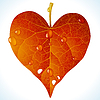 Vector clipart: Autumnal love
