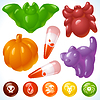 Vector clipart: Halloween Food - Creepy Treats and Tasty Eats