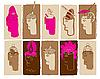 Vector clipart: human heads