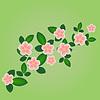 Векторный клипарт: Весной цветы