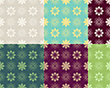 Abstract seamless pattern color variants