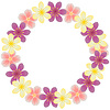 Vector clipart: Floral frame