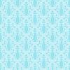Векторный клипарт: Бесшовные голубой дамасской цветочным узором