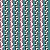 Векторный клипарт: Декоративные бесшовные полосы со стеблями модель