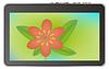 Векторный клипарт: Абстрактный планшетного устройства с цветами иллюстрации