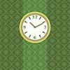 Векторный клипарт: Часы на стене рисунок