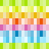 Vector clipart: Rainbow colored rows of rectangles