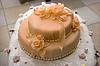 Wedding celebratory pie | Stock Foto