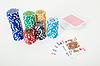 Фото 300 DPI: карты и фишки для покера