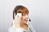 Operator on-line service. humor | Stock Foto