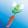 Dollar launch   Stock Vector Graphics