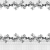 Vector clipart: lace seamless background