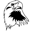 Vector clipart: stylized eagle