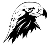 Vector clipart: Tattoo. Eagle`s head