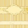 Vector clipart: Gold Label vintage