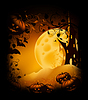 Halloween-Hintergrund | Stock Illustration