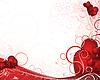 White valentines background