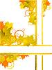 Autumn background | Stock Vector Graphics