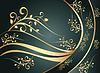 Blue floral ornament | Stock Vector Graphics