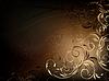ID 3270982 | BrownBlackFloralBackdrop | Stock Vector Graphics | CLIPARTO