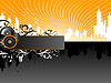 Vector clipart: Music Background