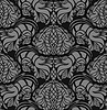 Vector clipart: Seamless floral ornament