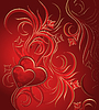 Vector clipart: Valentines background