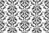 Vector clipart: Decorative seamless floral ornament