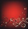 Векторный клипарт: Красота цветочный фон