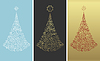 Vector clipart: Christmas design tree