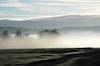 Morning fog over field | Stock Foto