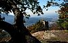Castle Hohenbaden in Black forest | Stock Foto