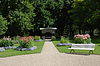 Dahlia Park of Baden-Baden with pavilion | Stock Foto