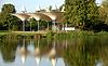 Pavilions in the garden in Ettlingen   Stock Foto