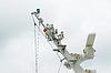 Photo 300 DPI: Radio installation on ship