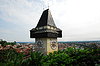 Clock tower in Graz | Stock Foto