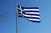 Фото 300 DPI: Греческий национальный флаг