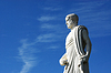 Photo 300 DPI: Aristotle`s statue