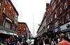 Shopping street in Dublin | Stock Foto