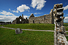 Church ruins on irish cemetery | Stock Foto