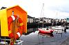 아일랜드의 항구 시설 | Stock Foto