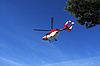 Photo 300 DPI: Rescue helicopter in the air