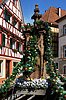 Easter wells in Gernsbach | Stock Foto