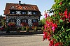 Half-timbered house in Schwarzwald | Stock Foto