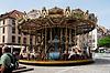Photo 300 DPI: children's carousel